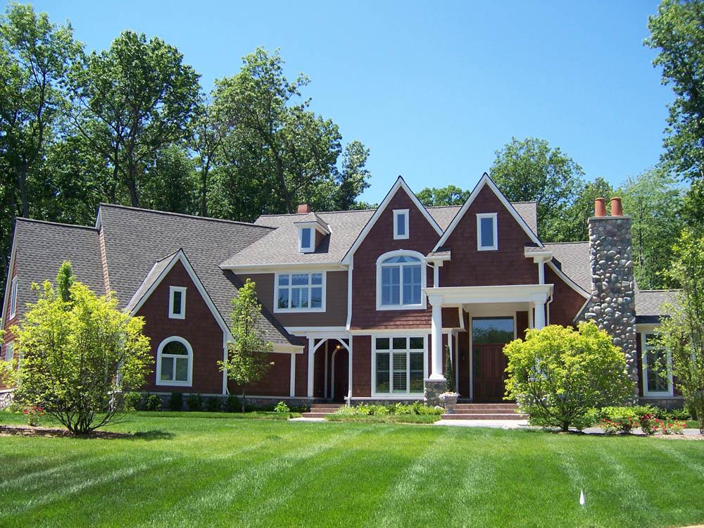 Park Ridge Shingle Style Home Schuster Homes